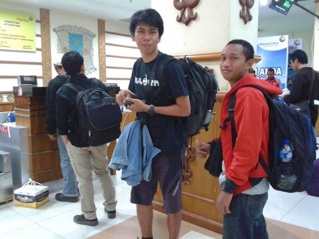 Saat di Bandara Aceh