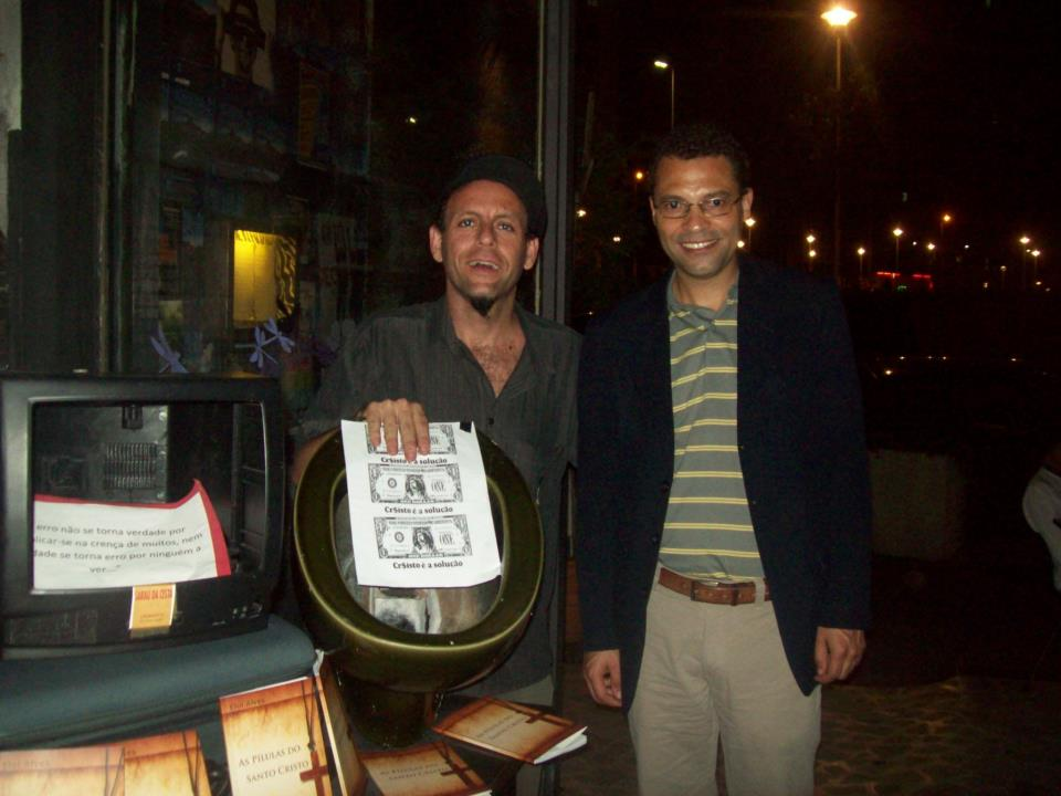 Claudio Laureatti e Eloi Alves