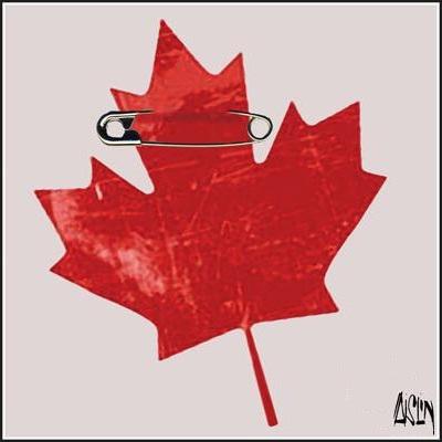 Aislin: Canada Day.
