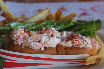 lobster roll at Cooks Lobster