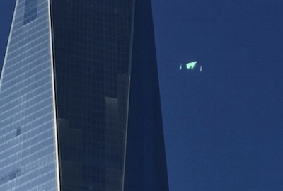 Glowing UFO Caught Above Manhattan 2015, UFO Sightings