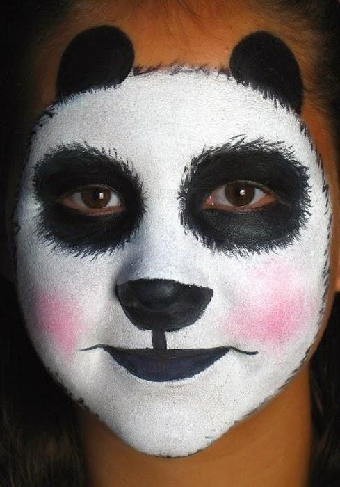 Pintura moderna y fotograf a art stica fotos de caras de - Pinturas de cara para ninos ...