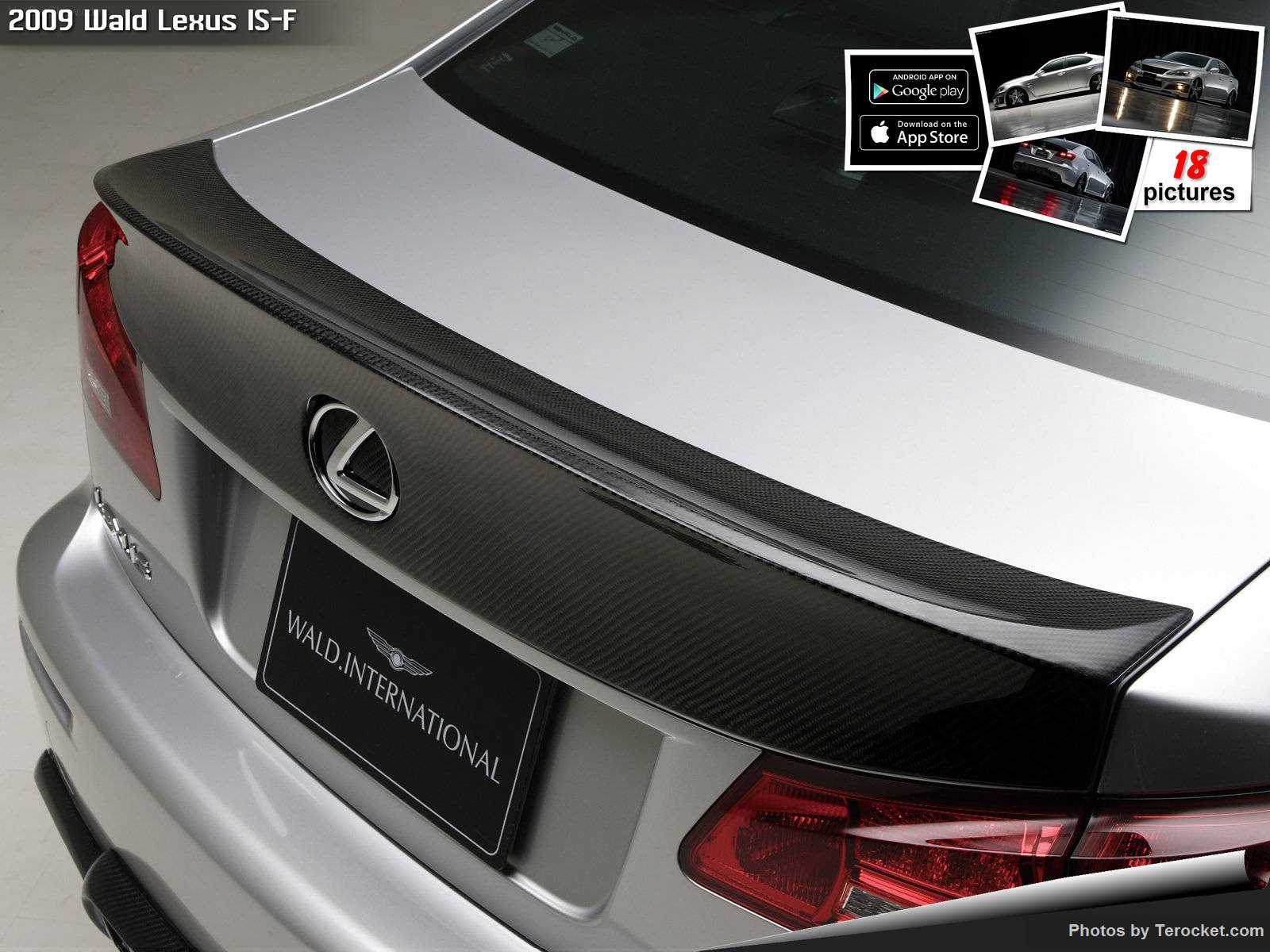 Hình ảnh xe độ Wald Lexus IS-F 2009 & nội ngoại thất