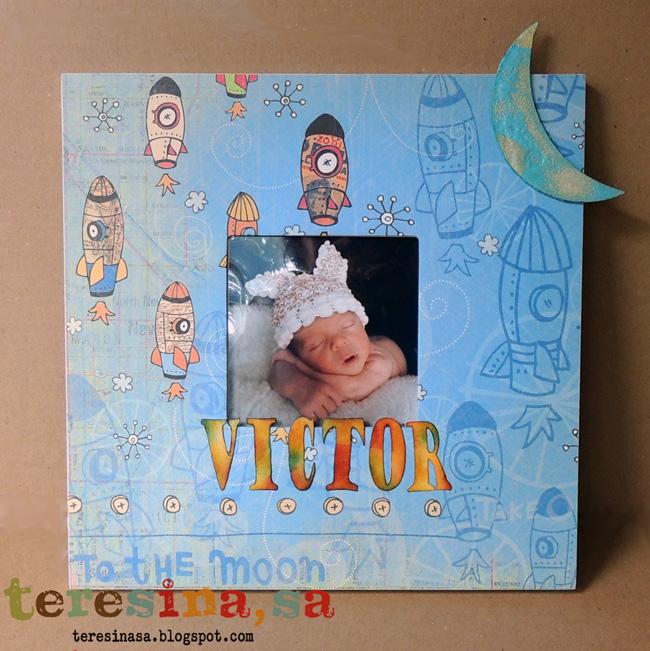Malma bebé scrapbook