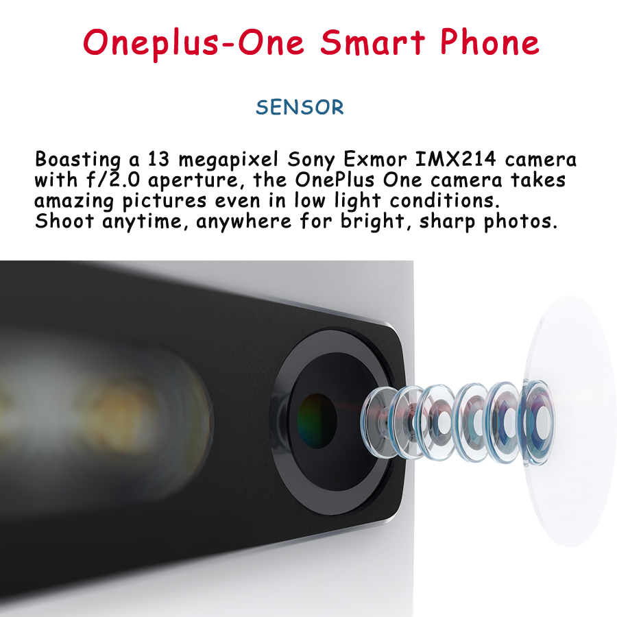 sensor of oneplus-one smartphone