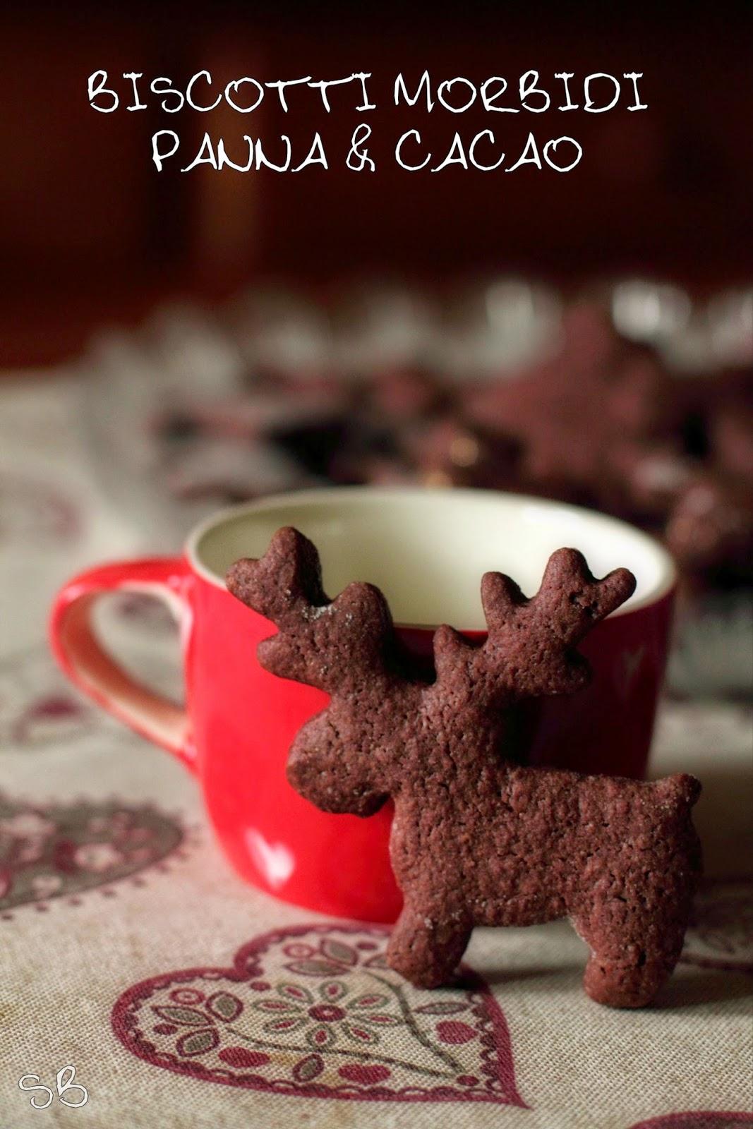 biscotti morbidi panna & cacao