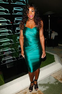 Celebrities Bandage Dresses, Serena Williams Bandage Dresses Pics