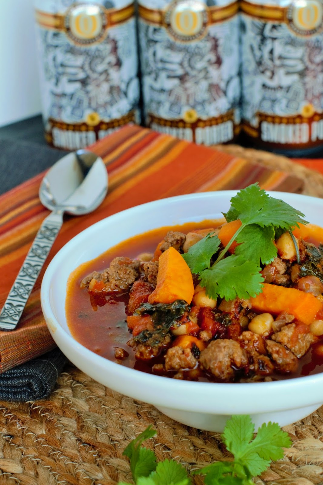 ... biscotti: Moroccan Lamb Chili with Kale, Chickpeas and Sweet Potato