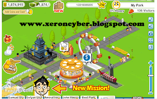 Cheat Social Park Cash , Coins , level dan XP
