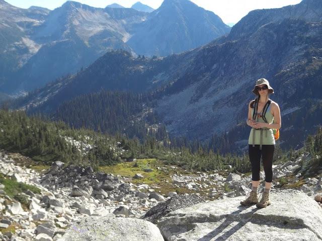 Field of granite, Mt. Gandalf, Tolkien Group, BC