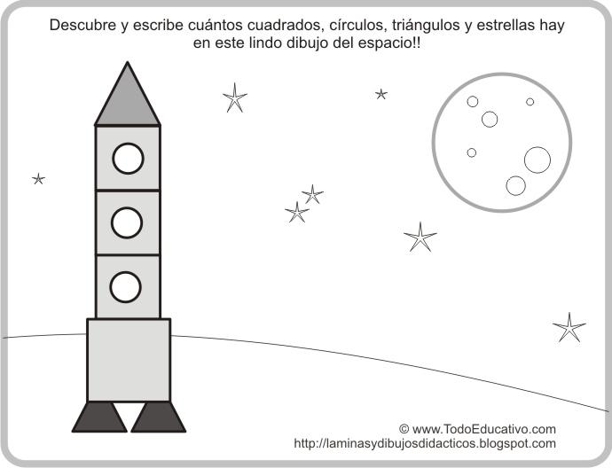 Dorable Dibujo De Cohete De Entrepierna Cresta - Páginas Para ...