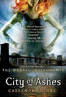 bookcover of CITY OF ASHES by Cassandra Clare
