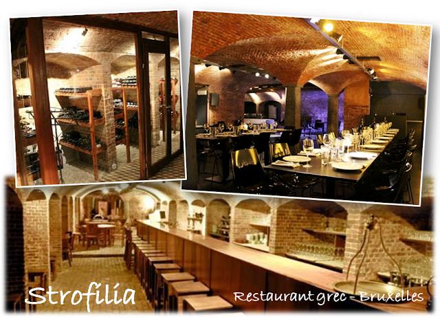 Voyager en Grèce sans quitter Bruxelles - Grèce gourmande - STROFILIA  - Restaurant - Cuisine grecque de qualité  - Bruxelles-Bruxellons