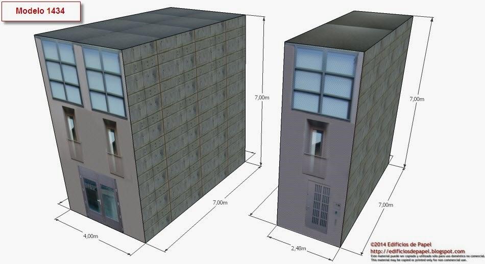 ©2014 Edificios de Papel - Modelo 1434