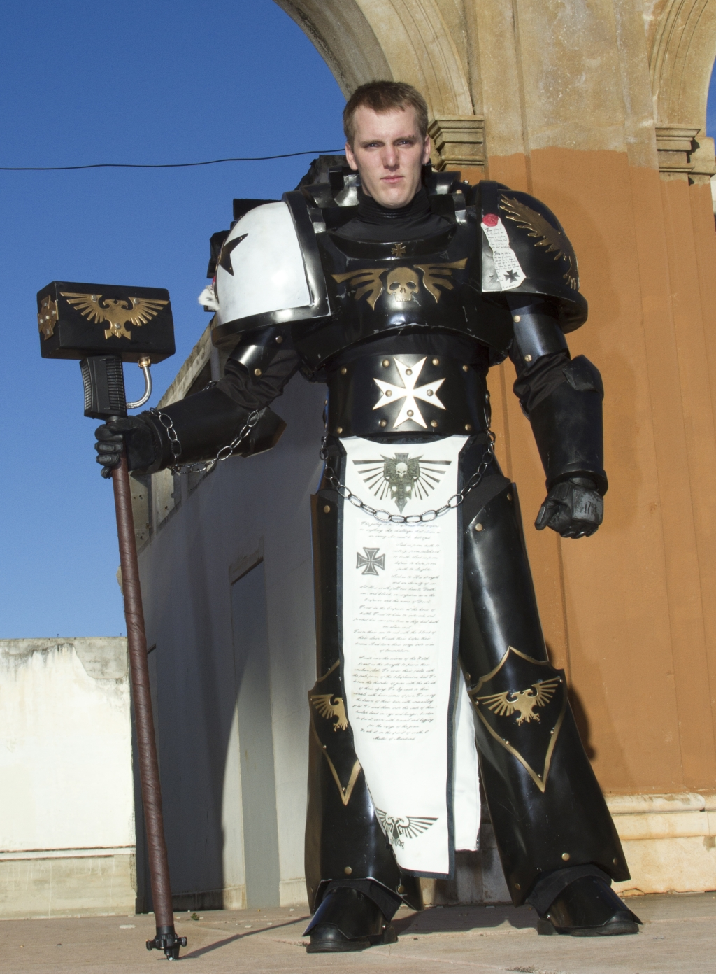 Not technically a space marines costume but awesome and worth