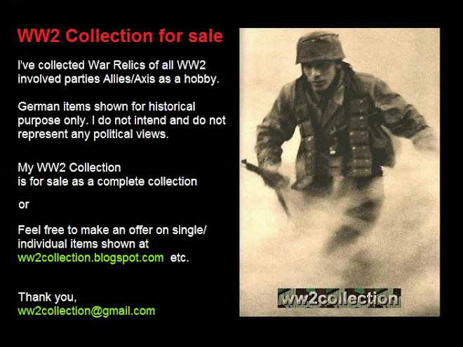Militaria Collection FOR SALE Military Relics