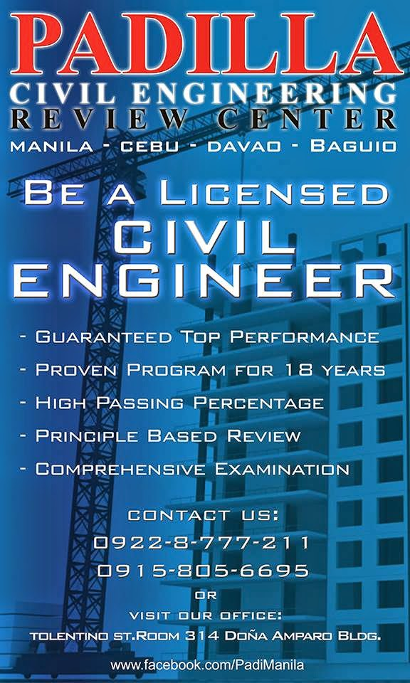 Philippine civil engineering review tips and guides manila based for more information on exact price promos and available schedule please contact fandeluxe Gallery
