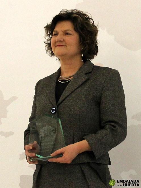 Pilar García Granero. Denominación de Origen Navarra. II edición de los Premios La Capilla. Lo mejor de la Gastronomía Navarra