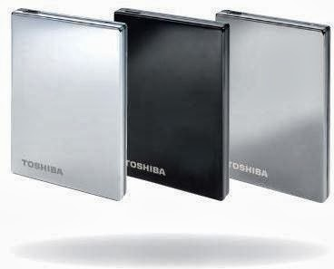 Toshiba Stor.E Steel S Titanium 500GB