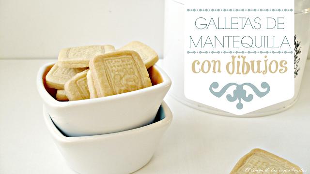 galletas mantequilla sello receta