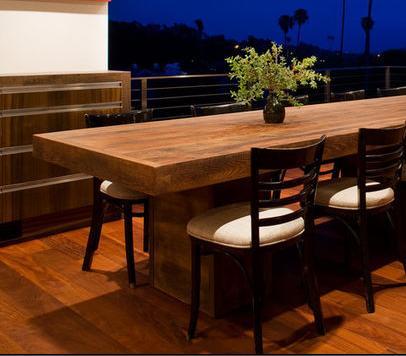 Fotos de comedores mesa comedor madera for Fotos de comedores de madera