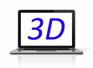 Ordenador portátil 3D
