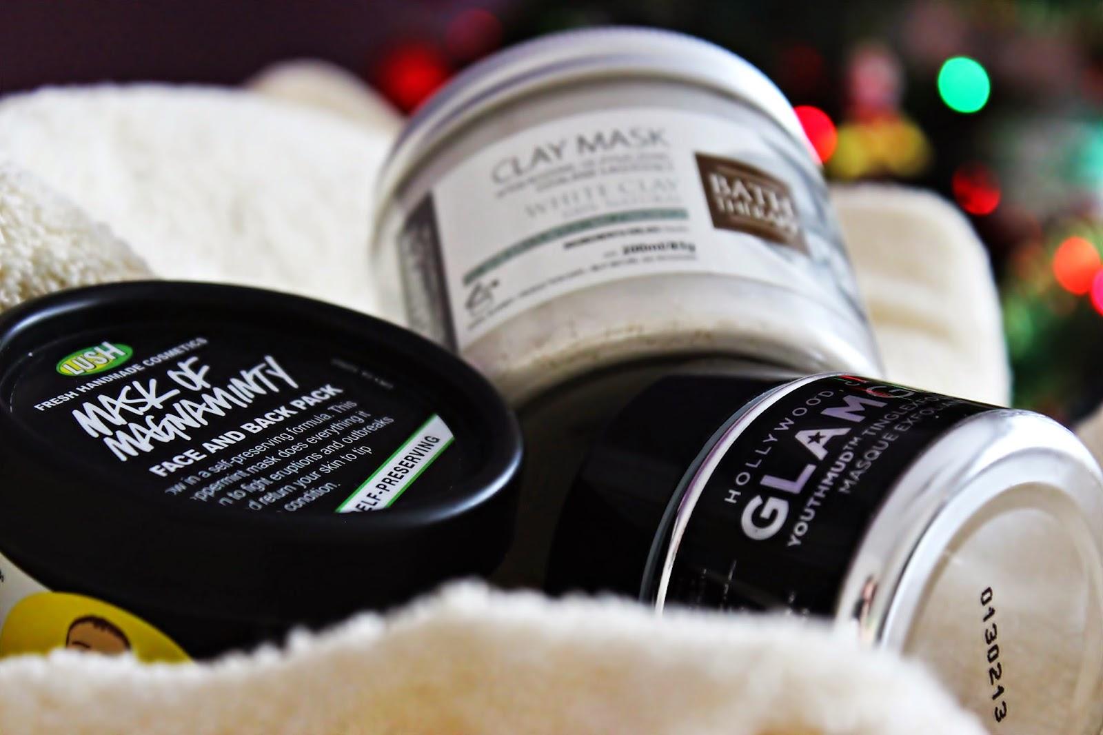 Pielegnacja tłustej skóry | 3 maseczki - Organique, Lush, GlamGlow