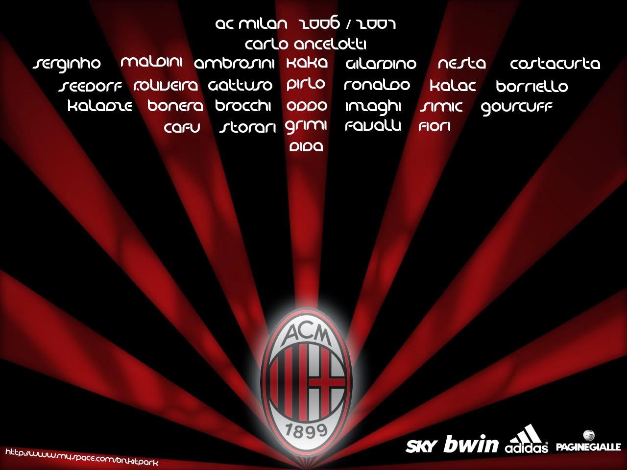 The Fresh Wallpaper Ac Milan Football Club Wallpaper