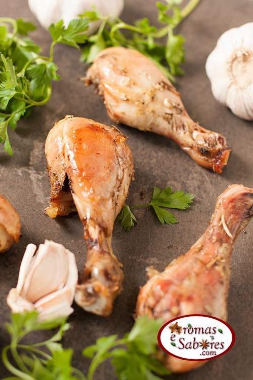 Coxinhas de frango simples ao forno