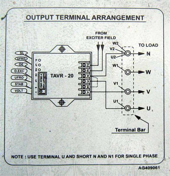 ELECTRIC MACHINES Trident Powercraft TAVR 20