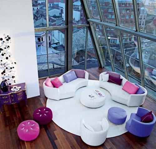 Interior Design Living Room Stock Images