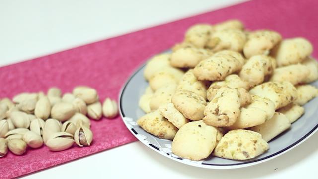Biscoito de Pistache Ghraibe