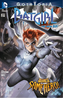 Cover of Batgirl #27 from DC Comics