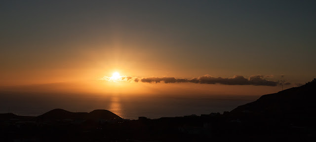 Zachód słońca - Teneryfa