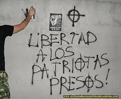 ¡NO más presos políticos!