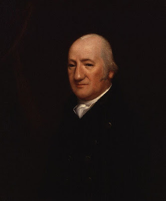 Portrait of Henry James Pye by Samuel James Arnold