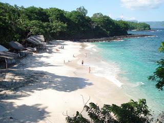 Pantai Padang Kurungan di Padangbai, Manggis, Karangasem, Bali
