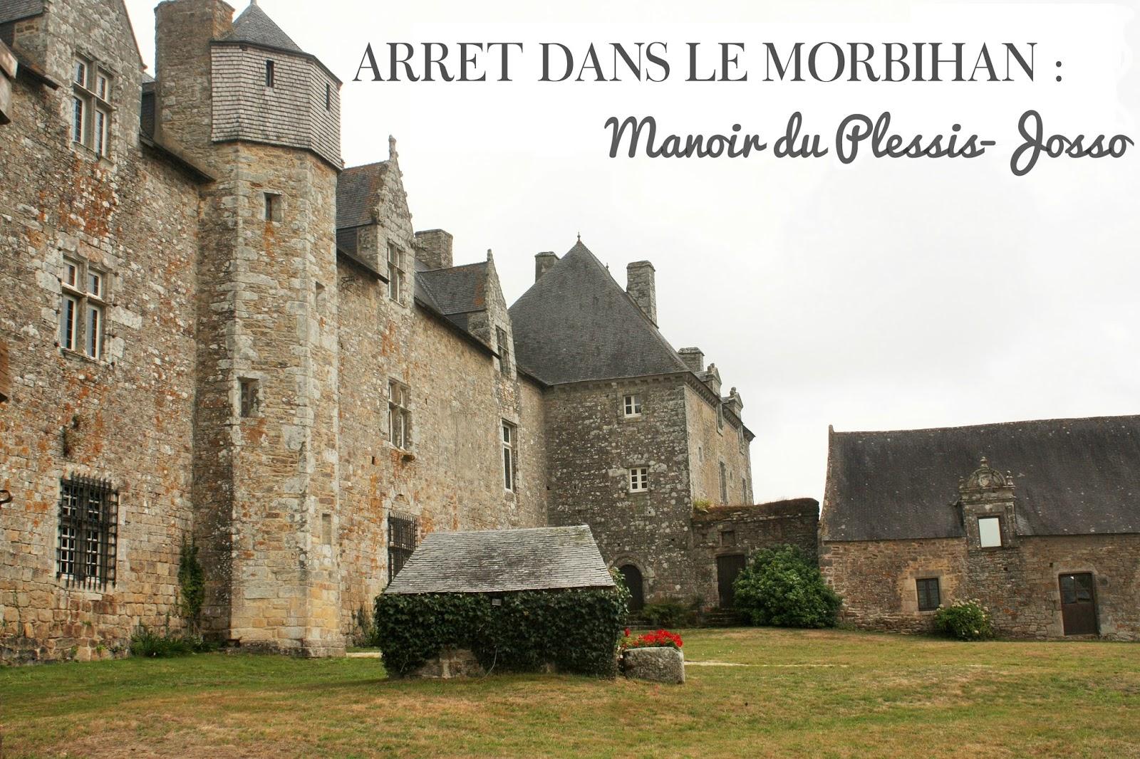 Morbihan le manoir du plessis josso mes petits carnets blog voyage esc - Manoir du petit plessis ...