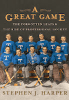 Stephen Harpers Buch über Hockey
