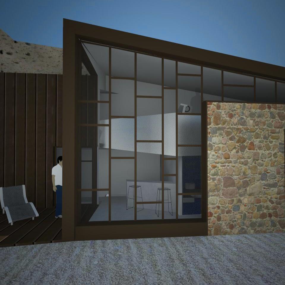 nim architecture renovation de grange a boissy sous saint yon. Black Bedroom Furniture Sets. Home Design Ideas