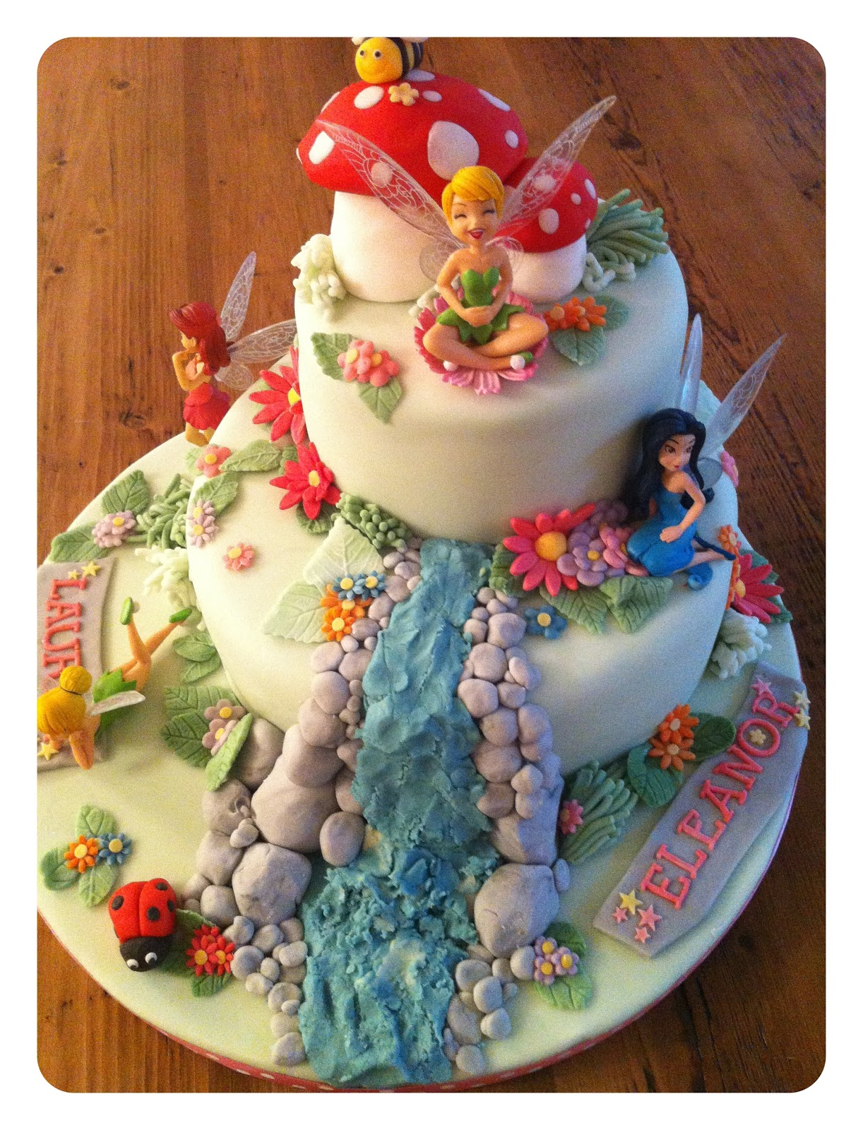 homebird: Tinkerbell birthday cake