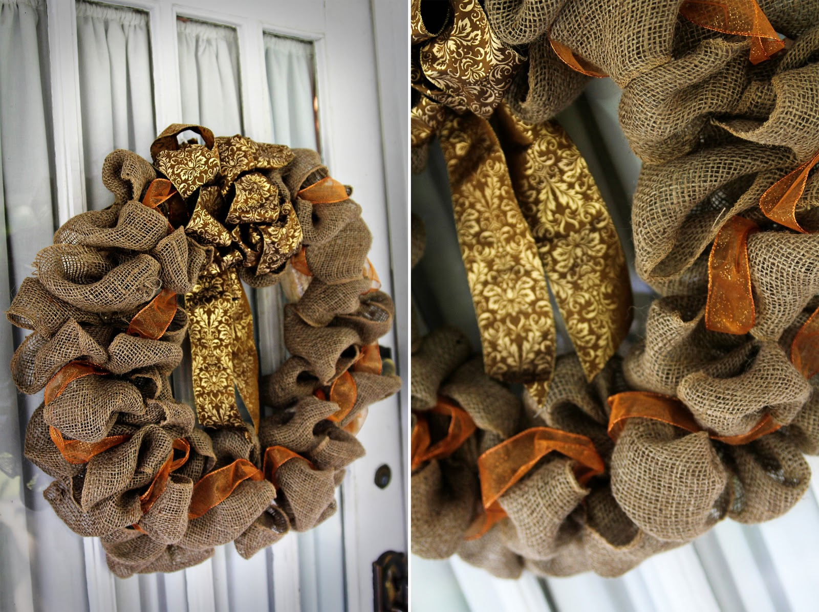 Pass The Pineapple Diy Fall Wreath Tutorial
