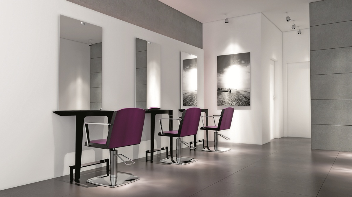 Attrezzature estetica arredamenti e attrezzature per for Arredamento parrucchieri ikea