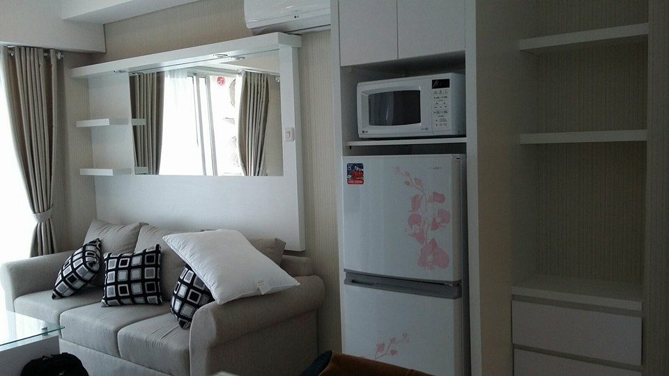 Paket interior apartemen 2 bedroom trivium infinity for Design interior apartemen 1 bedroom