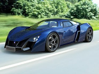 From Russia with speed: Marussia B2, 190 MPH