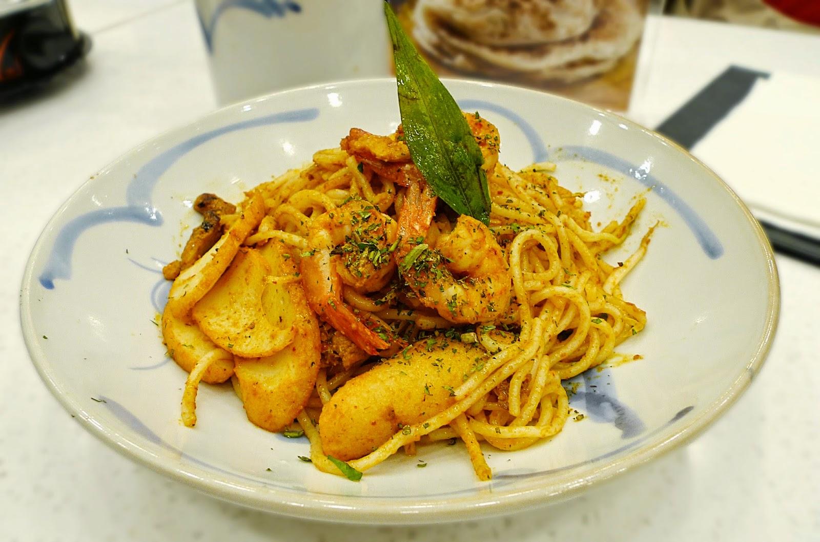 Curry Times Dry Laksa Goreng