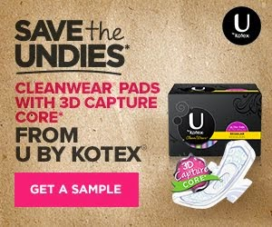 Sponsored by U by Kotex