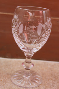My First West Highland Way Race Goblet, 2010