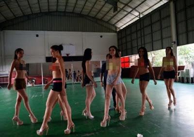 Foto Rahasia, Tempat Ini Penghasil Wanita-wanita Cantik Filipina