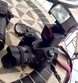 撮影機材・メインカメラ